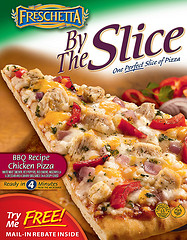 Freschetta Pizza By the Slice: Another quick pre-travel meal