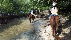 Horseback Riding through Poverty