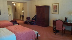 Our Chateau Double Accommodations