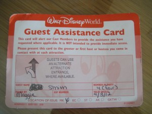 Orlando Theme Parks – Tips for Traveling with Special Needs