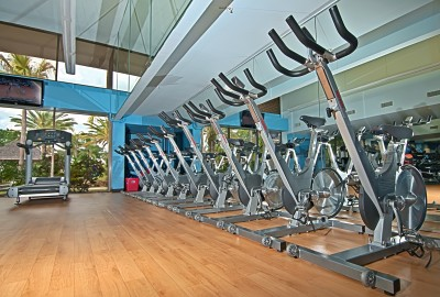 Gym at Club Med Sandpiper Bay