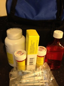 Flying with Kids and Leukemia: Port-a-caths and Medications