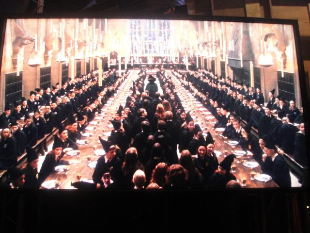 Great Hall Movie Scene