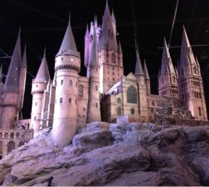 Hogwarts Model from Below