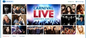 Carnival Spices Up Ship Entertainment With Carnival Live Music Series