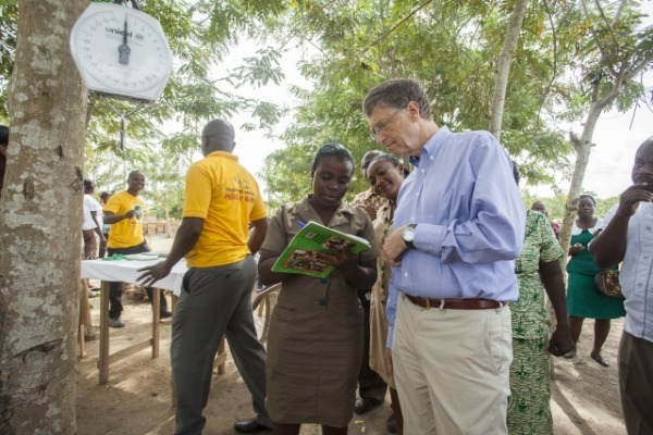 Bill Gates Global Poor