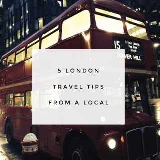 London Tavel Tips