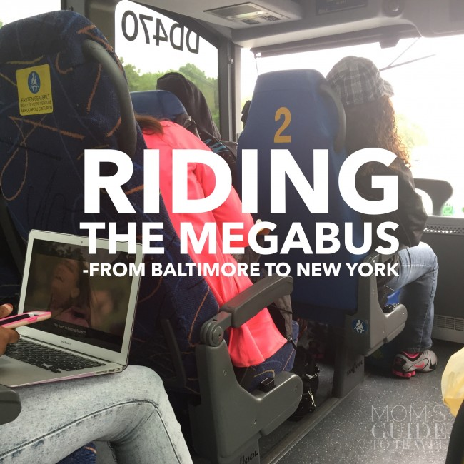 How To Ride The Megabus From Baltimore To New York