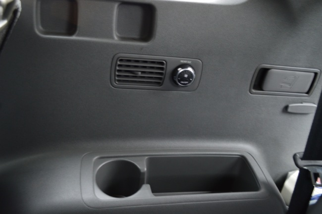 Kia Sorento 3rdRow Controls
