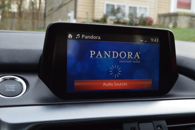 Mazda6 Pandora