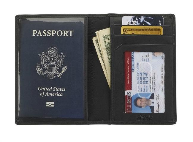 RFID blocking wallet travel gear