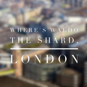 The Shard London Tickets For Families Searching For Waldo