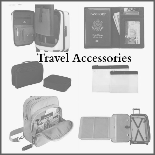 Spring 2016 Travel accessories