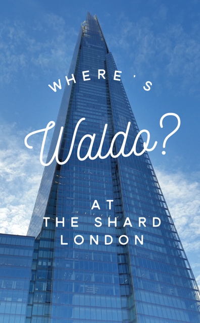 Waldo at The Shard London