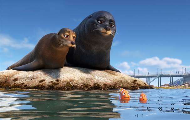 FindingDoryMovieReview_Seals