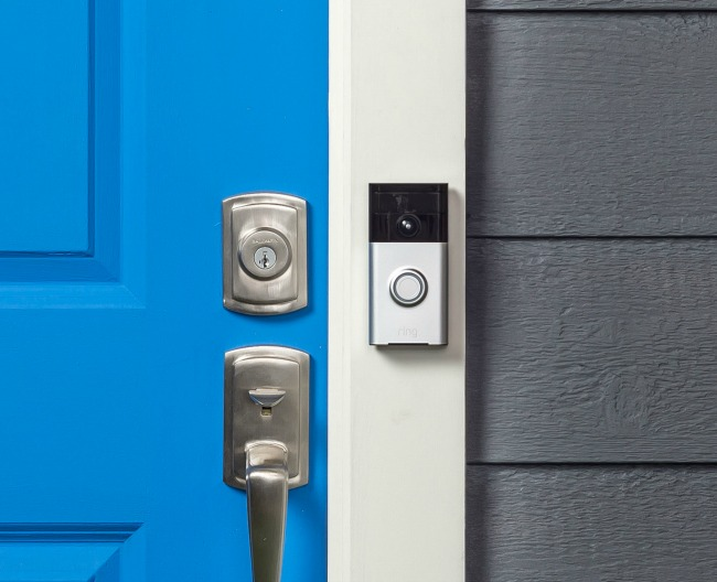 Ring Doorbell Security Mounted
