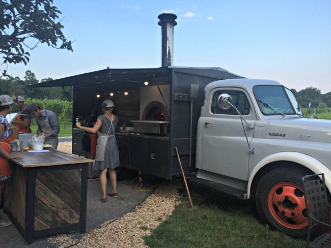 Well Crafted pizza truck