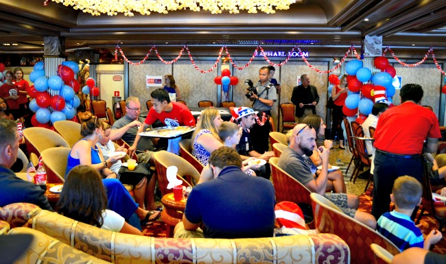 Dr. Seuss party Carnival cruises