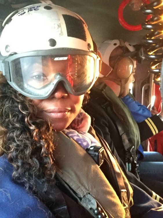 MH-60 Helicopter Selfies