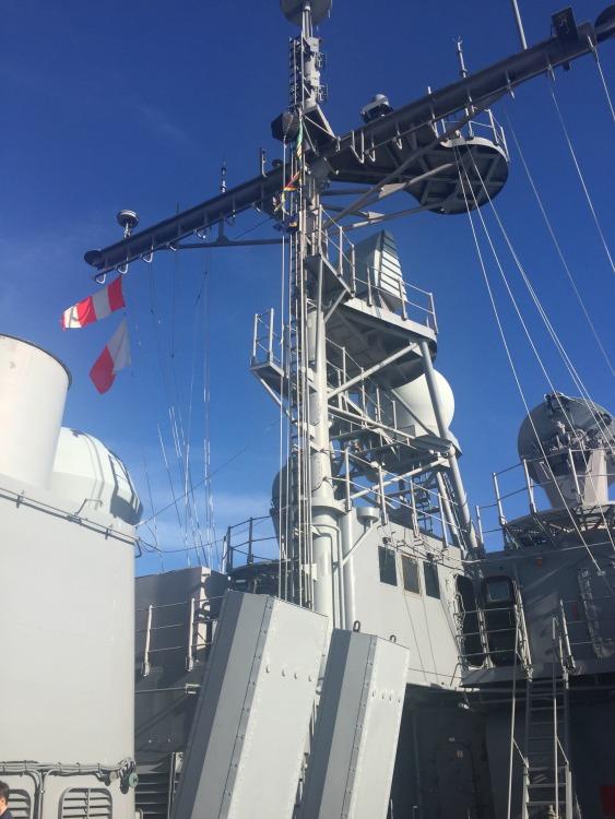 USS Leyte Gulf Tower