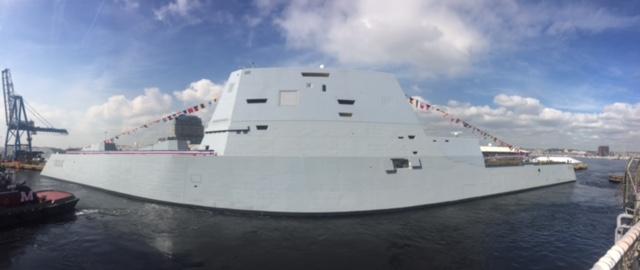 USS Zumwalt Maryland Fleet Week