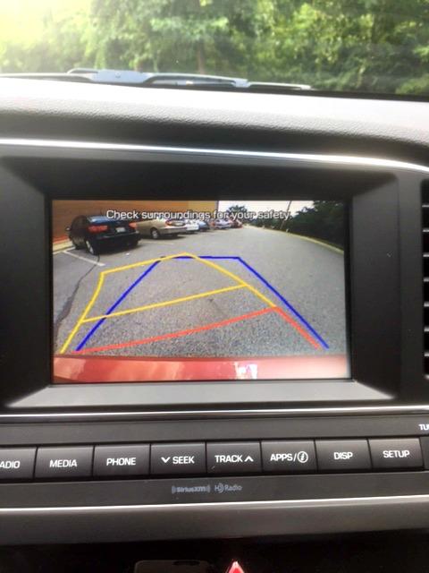 2017 Hyundai Elantra Eco Rear Cam