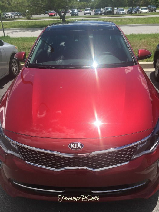 2016 Kia Optima SX Turbo Grille