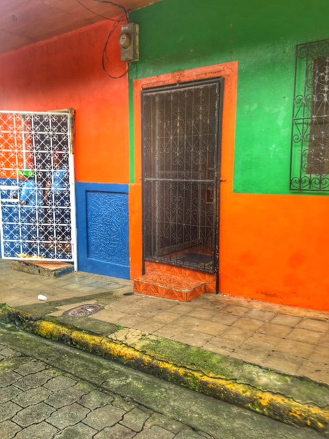 Colorful doors in Nicaragua