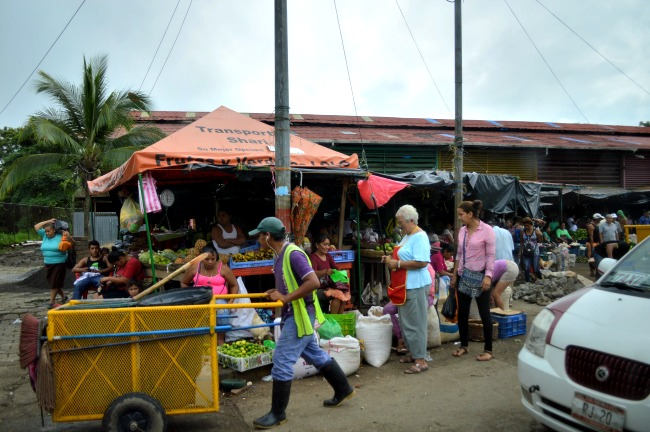 Nicaragua travel - market