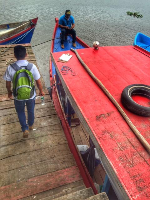 Nicaragua Fishing Boat