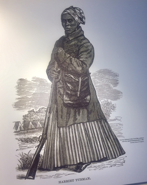 Harriet Tubman drawing