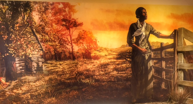 Harriet Tubman Visitor Center Exhibit