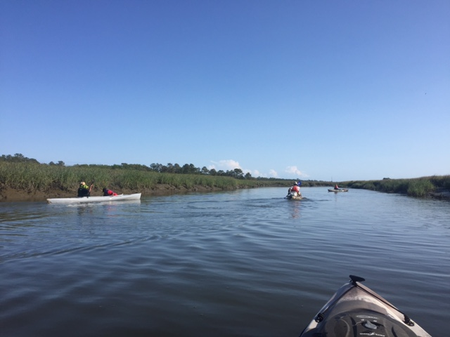 Family Kayaking In Charleston SC