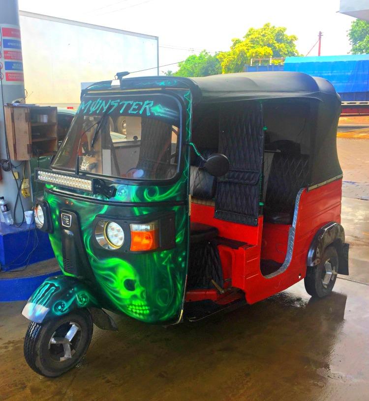Tiki Taxi in Nicaragua