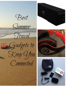 Best Summer Travel Gadgets To Keep You Connected