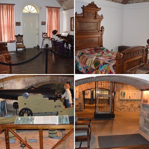 Casemate Museum Displays