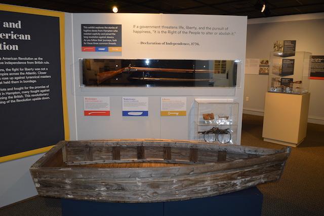 Wooden Boat Hampton Museum