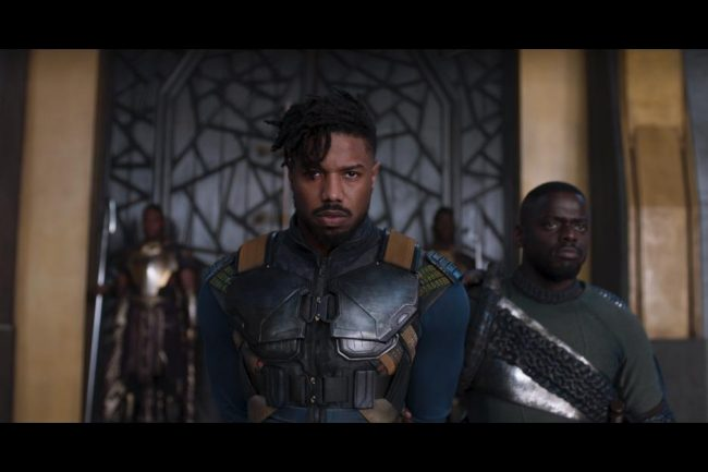Black Panther Eric Killmonger