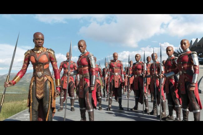 Black Panther Female Warriors