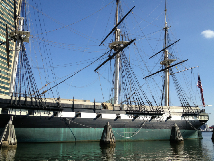 Spring Break ideas Baltimore tall ships