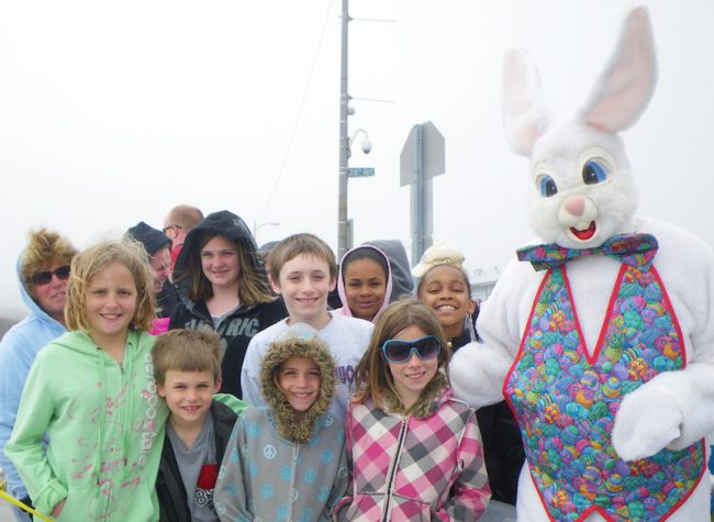 Easter Bunny at the Wildwoods NJ