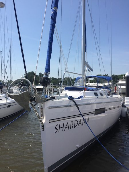 Shardana Sailboat