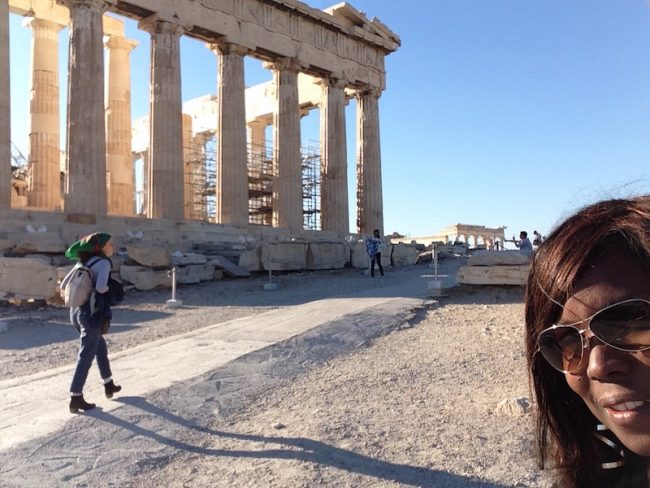 Moms Travel Solo Greece