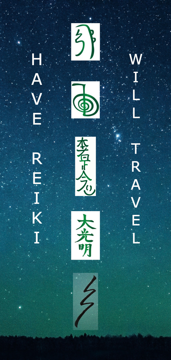 Have Reiki Will Travel
