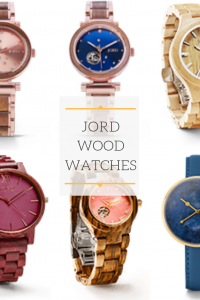 Managing my time with Jord wood watches