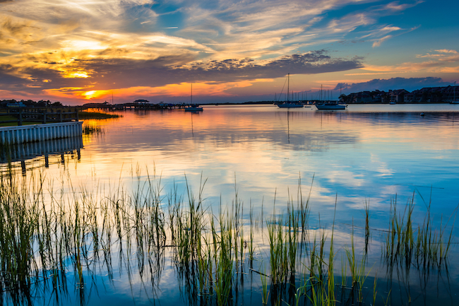 Kayak Fishing In Charleston Folly River