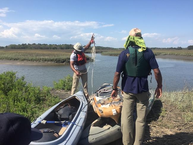 Kayak Fishing In Charleston Tools
