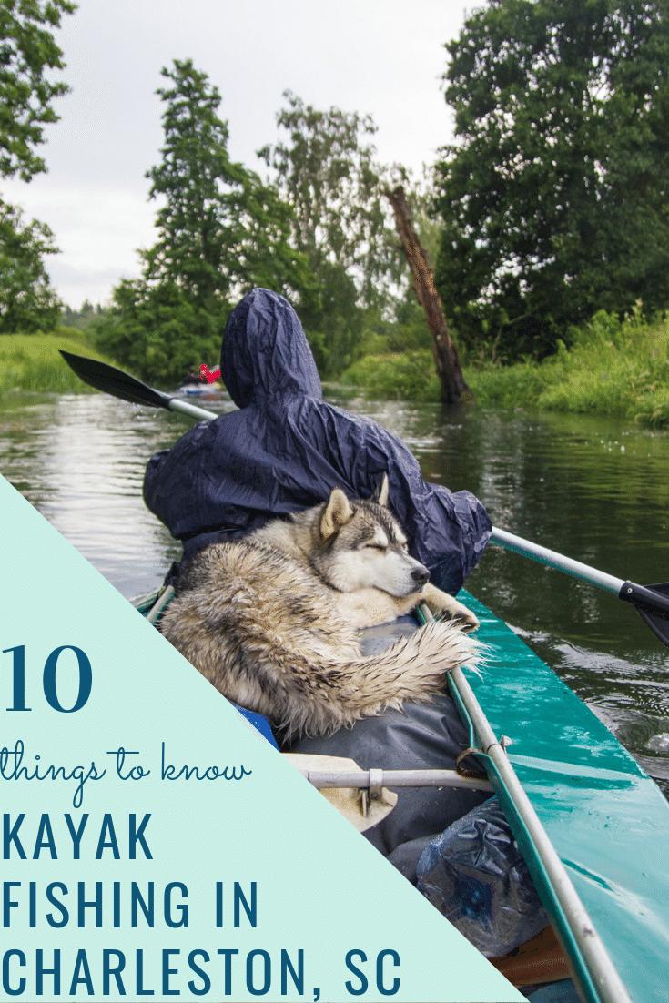 Kayak Fishing in Charleston, SC
